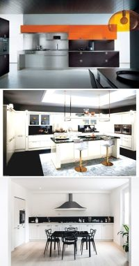 Spacious Modern Italian Kitchen Design Ideas