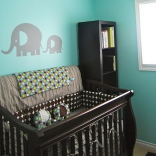 best chair for nursery adjustable height vanity 7 splendid ideas to create a blue elephant-themed your newborn child