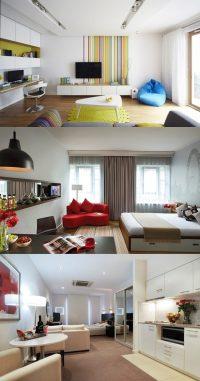 Amazing Designs for your Single Room Apartment - Interior ...