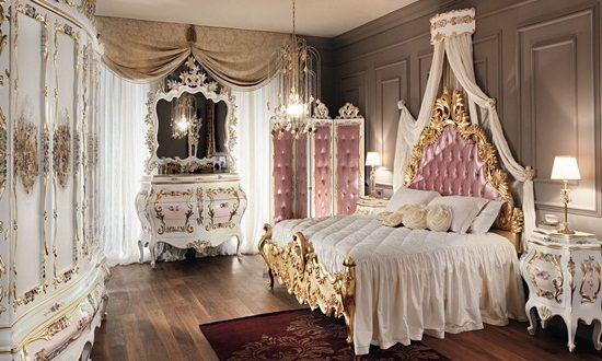 Elegant French Boudoir Themed Bedroom Style Interior Design