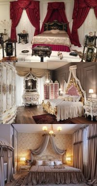 Elegant French Boudoir-Themed Bedroom Style - Interior design