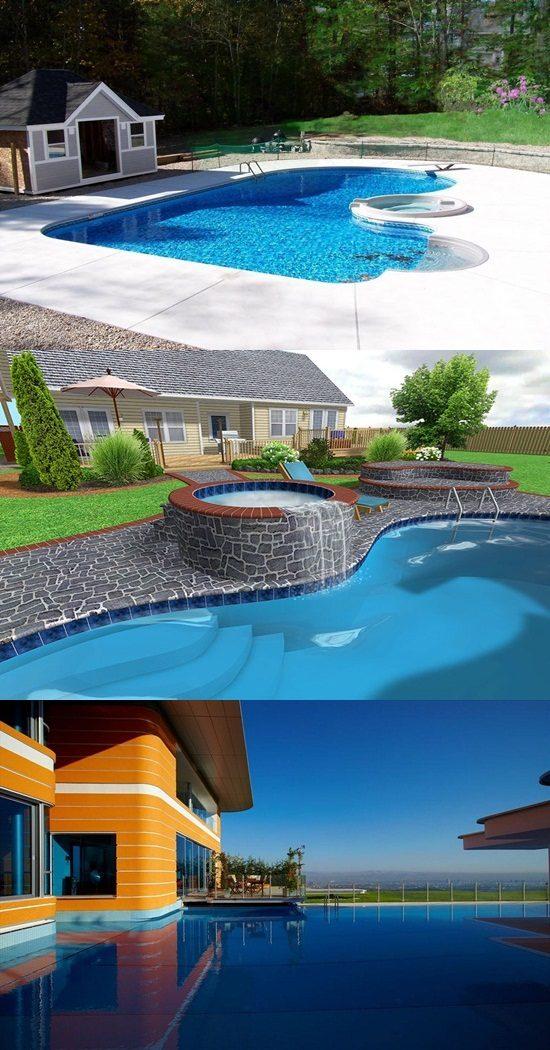 Fantastic Backyard Swimming Pool Design Ideas  Interior