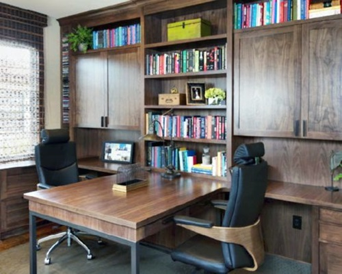 built in office furniture 5 unique small modern home office design ideas interior 12672