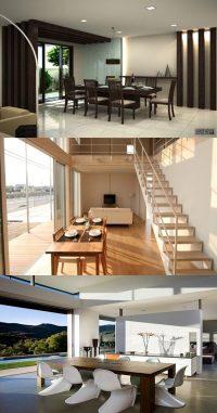 Minimal Japanese Modern Dining Room Design Ideas ...