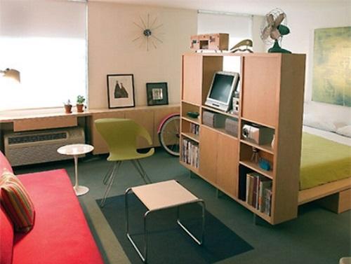 Small Apartment Innovative Solutions  Interior design