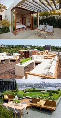 Inspiring Rooftop Deck Design Ideas - Interior design