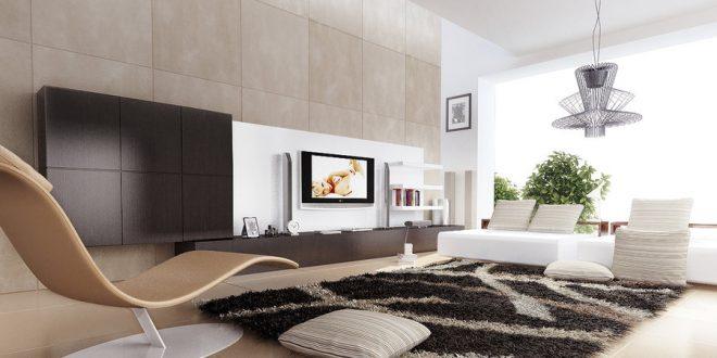 Mejorar su aspecto contemporáneo sala de estar con sillón cama