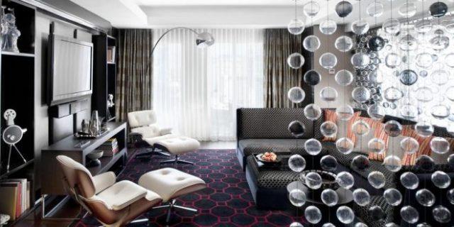 ideas perfectas para los muebles de almacenamiento elegante sala de estar