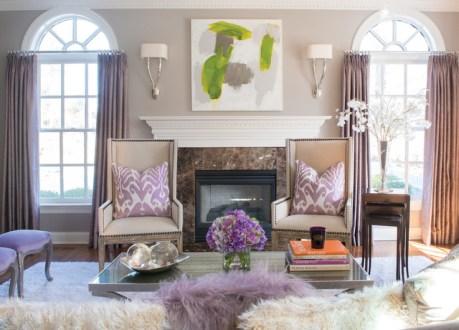 Cree su tradicional sala de estar cálido y acogedor