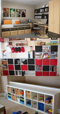 Creative ideas of storage space for the small bedrooms ...