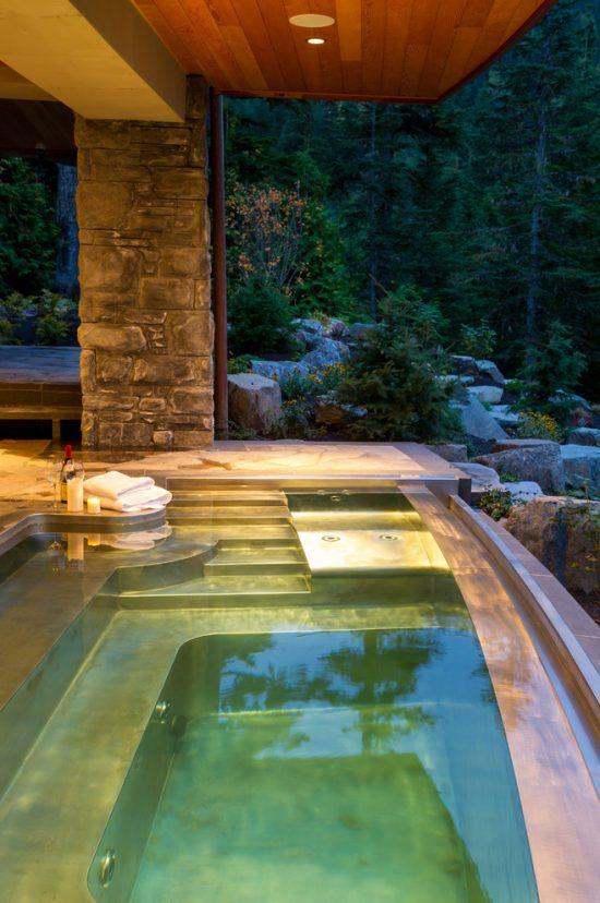 Breathtaking Indoor and Outdoor Spa Design Ideas by Diamond Spas  Interior design