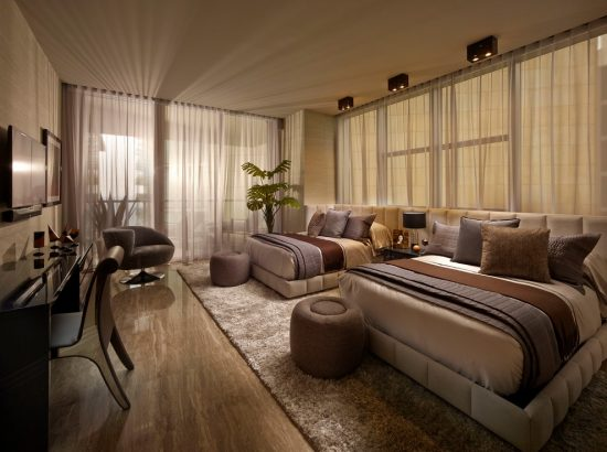 Cool and Calm high End Bedroom Design Ideas by Steven G
