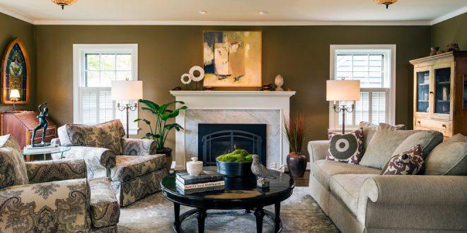 Consejos profesional para instalar la chimenea de su sala de estar por Jason Bola Interiors