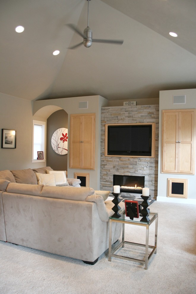 pictures of small living rooms with fireplaces french country style room ideas trendy modern rustic space by jordan iverson ...