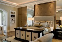 Add a traditional elegance to your bedroom design ...