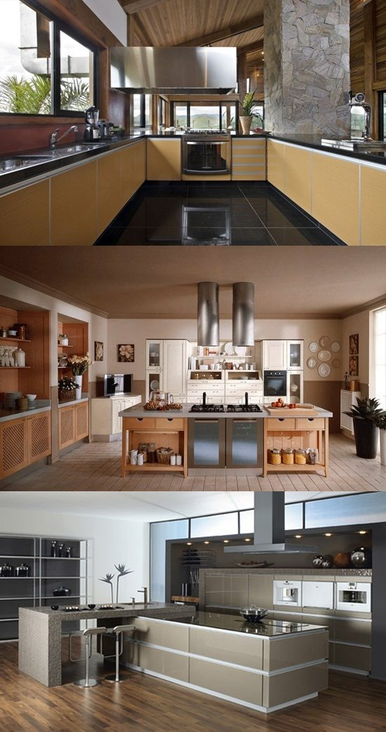 Amazing Stove Designs For Contemporary Kitchens Interior