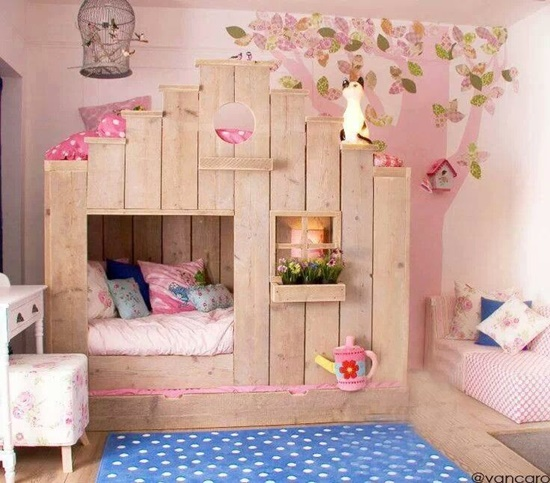 Get some cool design ideas for your little princess - Cute girl room ideas ...