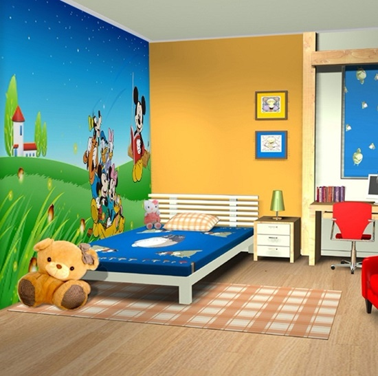 Have Fun With Decorating Your Child Bright Comfortable