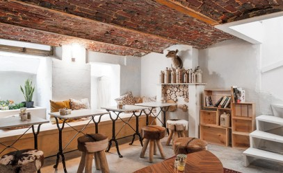 cnockaert architecture turns a medieval structure into a modern residence Interior Design Blogs