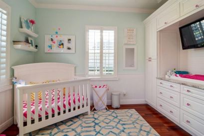 Nursery with Built Ins
