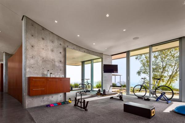 Fascinating Home Gym Design Ideas Rolling