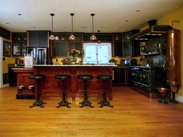 Steampunk Kitchen Decor