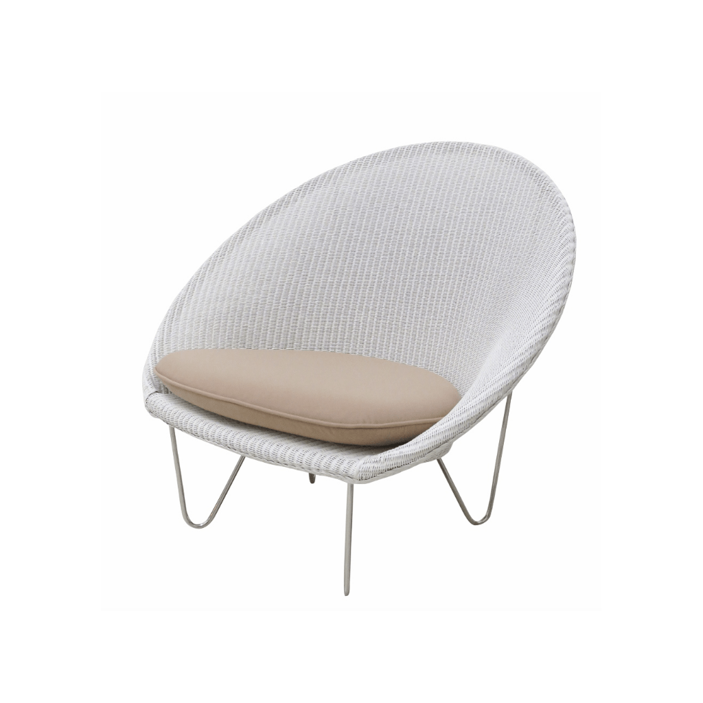 Cocoon Chair Vincent Sheppard Cocoon Chair White Outdoor Furniture