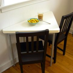 Kitchen Table For Small Spaces Floor To Ceiling Cabinets Interesting Folding Tables Interior
