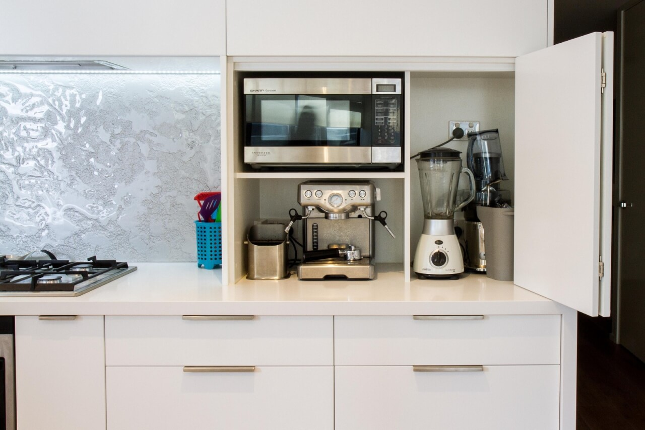 tiny kitchen appliances best island eight great ideas for a small interior design