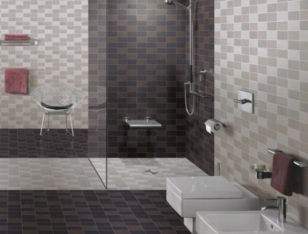 tiles versus painting interior design