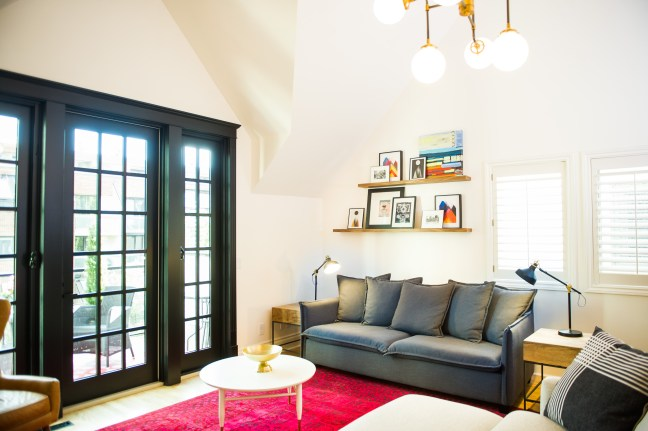 Innercity Eclectic Family Room