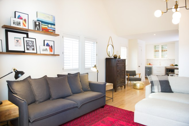 Inner-city Eclectic Family Room