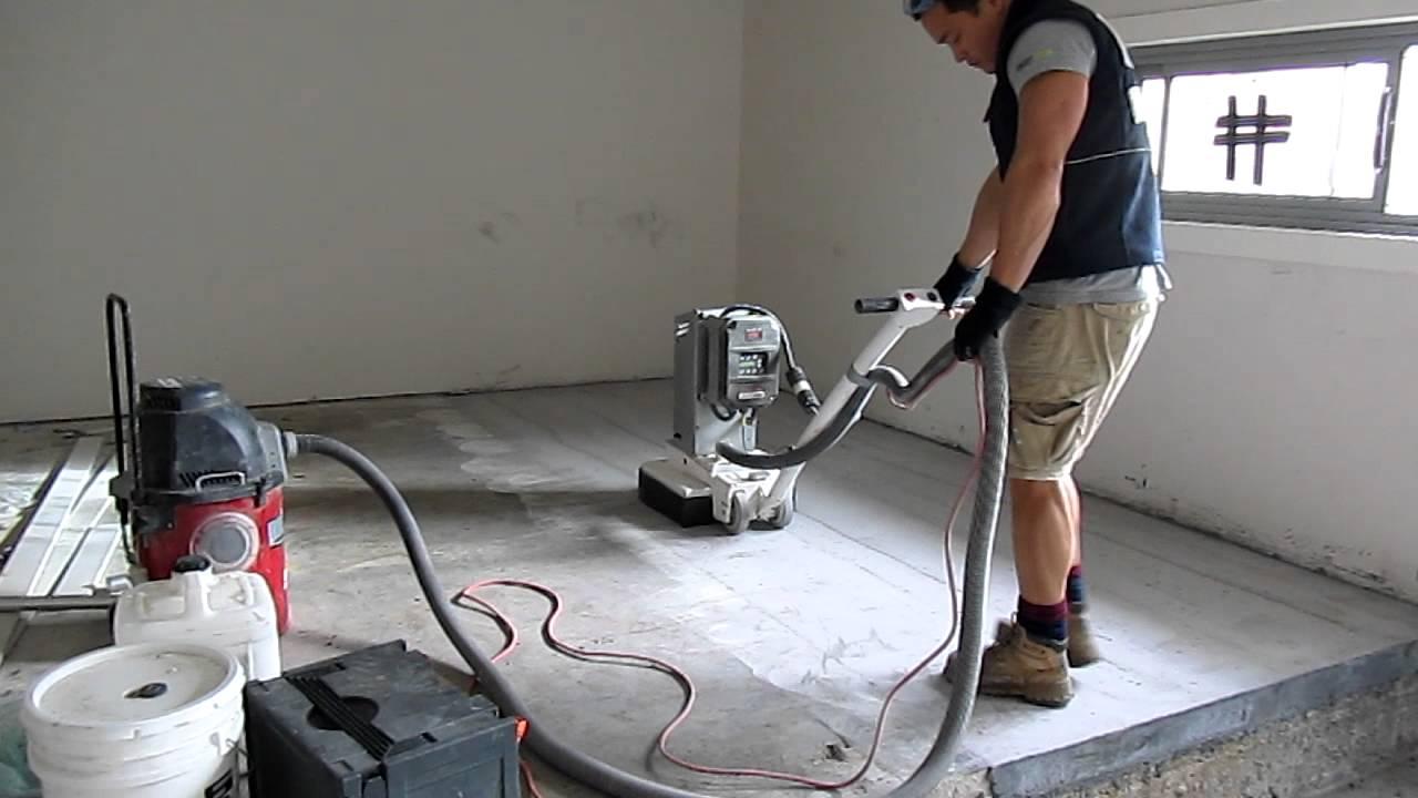 concrete grinder rental at home depot