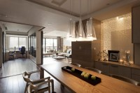 Nice Apartment with Kitchen, Living, and Office - Interior ...