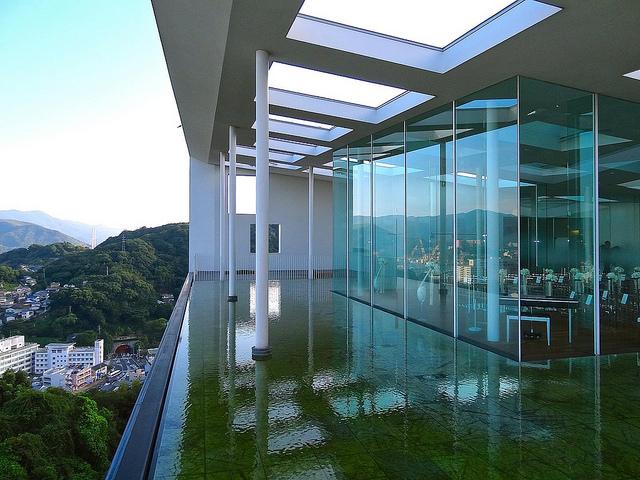 Garden Terrace Nagasaki Hotels  Resorts Japan by Kengo