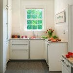 Interior design for a small kitchen