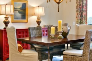 Rattan Chairs In Dining Room Design Ideas 2016