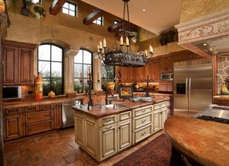 Brown Painted Kitchen Cabinets & Other Ideas
