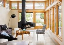 Elegant Scandinavian Sunroom Designs For Luxury Feeling