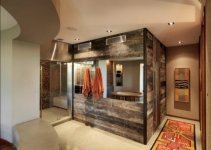 Modern Bathroom Designs With Wooden Work
