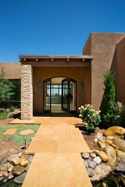 Southwestern Interior Entrance Ideas