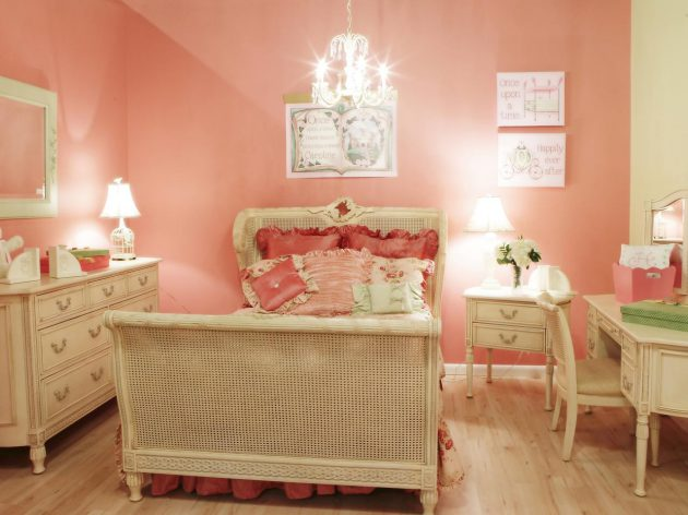 French Style Bedroom For Women In Classic
