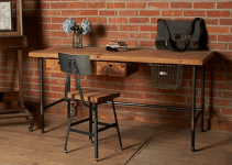 Industrial Office Desk Designs For Classic Interiors