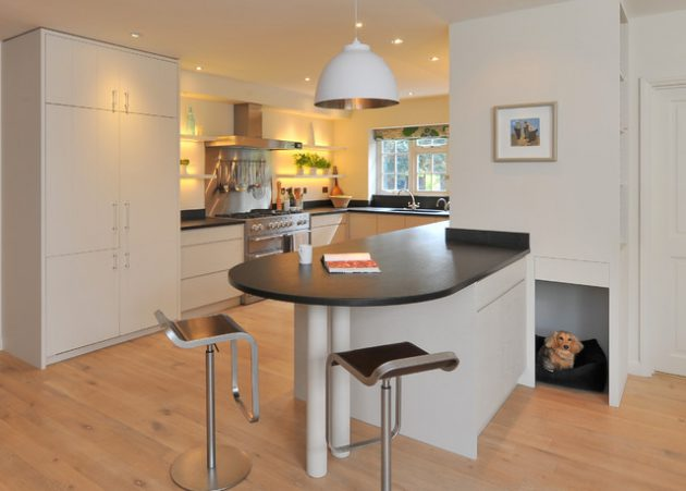U Shaped Kitchen Design For Limited Space Homes
