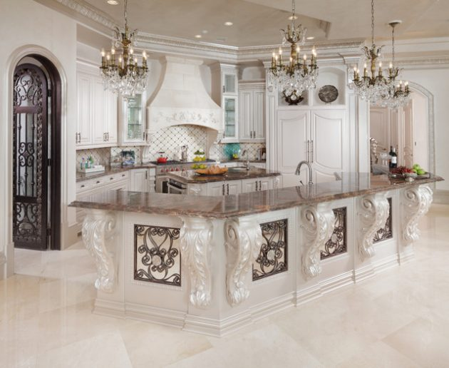 Classic Baroque Kitchen Designs You Should See 8