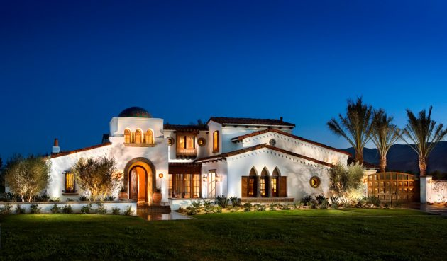 Mediterranean Home Design Ideas Complete Outside Look