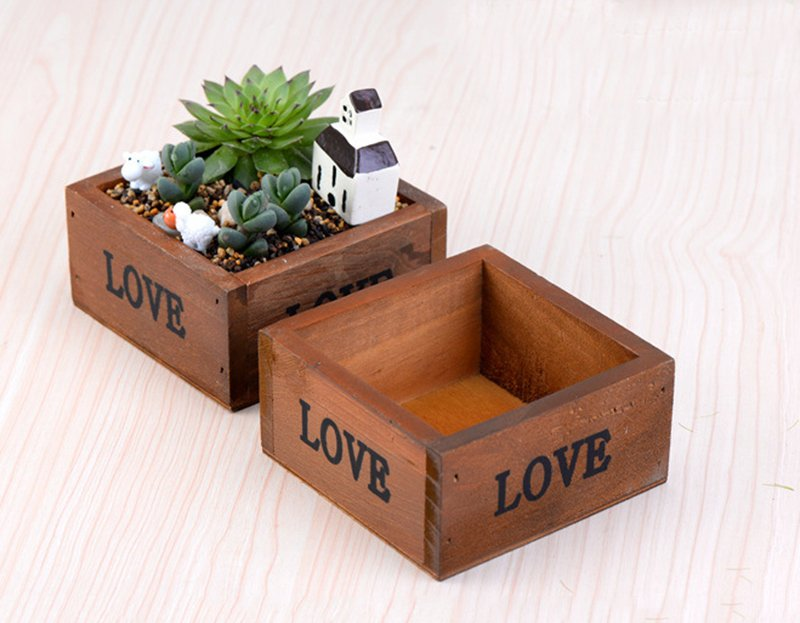 Modern Wooden DIY Planters For Your Home