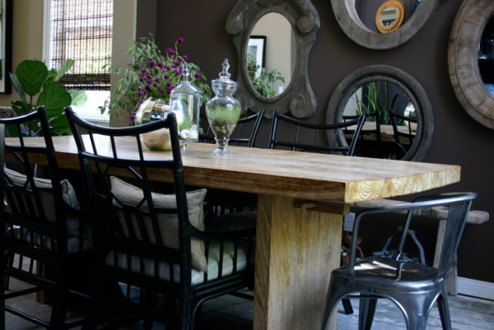 Design Your Dining Room With Bamboo Chairs Interiordesignsweb Com