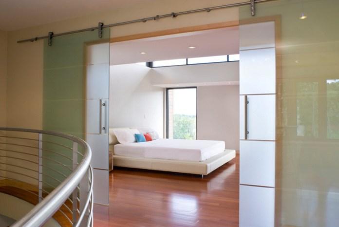 Modern Bedroom Doors luxury glass sliding doors to design a modern bedroom
