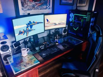 An Inside View Of Headquarters ☼ Via Reddit #Ps4 Gaming Setup #Dream Rooms #Gaming Setup Xbox